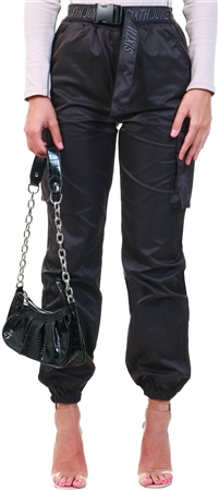 Sixth June Black Cargo Pants  - Click to view a larger image