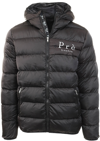 Pre London Black Alsace Puffer Jacket  - Click to view a larger image