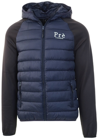 Pre London Navy/Black Hybrid Puffer Jacket  - Click to view a larger image