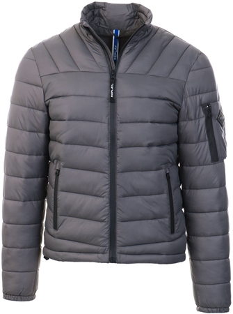 Replay Grey Puffer Jacket  - Click to view a larger image