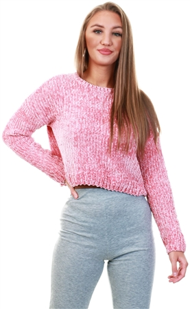 Only Pink Knitted Pullover  - Click to view a larger image
