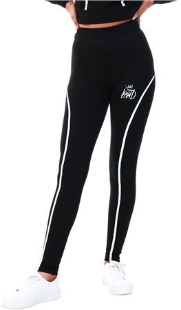 Kings Will Dream Black Logo Legging  - Click to view a larger image