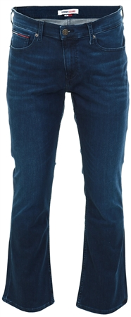 Tommy Jeans Sirocco Blue Comfort Ryan Bootcut Stretch Jeans  - Click to view a larger image