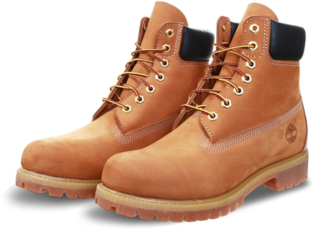 Timberland Yellow Premium 6 Inch Boot For Men  - Click to view a larger image