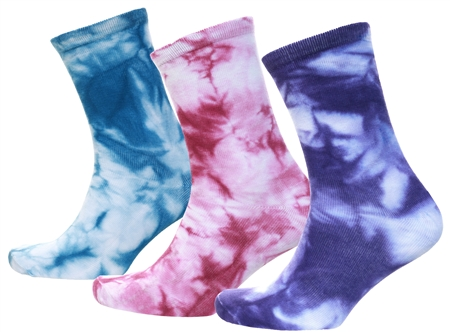 Brave Soul Tie Dye 3 Pack Socks  - Click to view a larger image