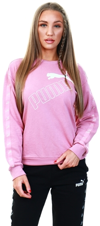 Puma Foxglove Amplified Crew Neck Sweatshirt  - Click to view a larger image