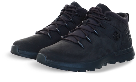 Timberland Black Nubuck Sprint Trekker Mid Boot  - Click to view a larger image