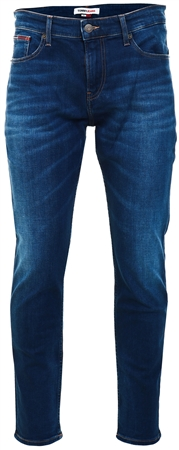 Tommy Jeans Aspen Dark Blue Stretch Ryan Relaxed Striaght Leg Jeans  - Click to view a larger image